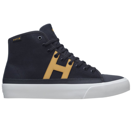 HUF Hupper 2 Hi Black/Black - Circle Collective