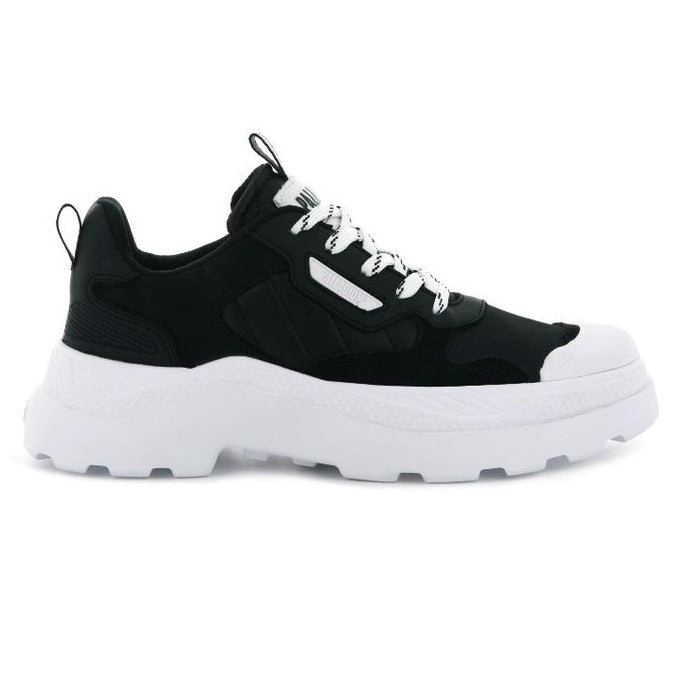 PALLADIUM Wmns Pallakix 90 Low Black/White - Circle Collective