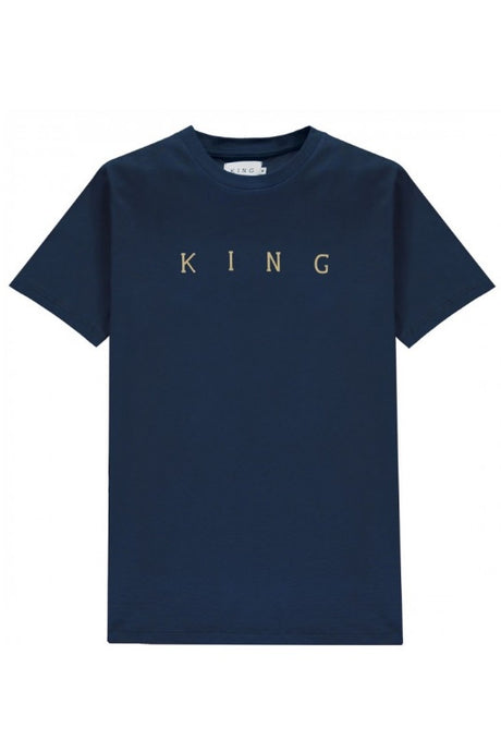 KING APPAREL T-Shirt Tennyson Gold Ink - Circle Collective