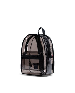 HERSCHEL Backpack Classic PVC Black Clear - Circle Collective