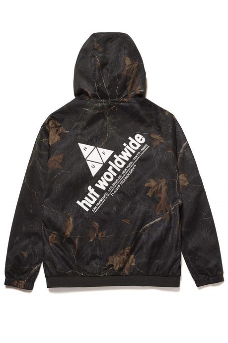 HUF Jacket Lightweight Network Realtree Black - Circle Collective