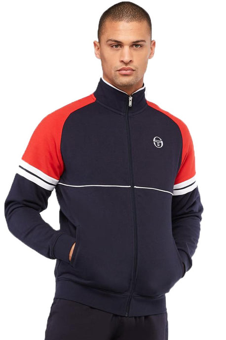 SERGIO TACCHINI Track Top Orion Night Sky/Red - Circle Collective