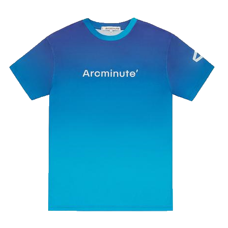 ARCMINUTE T-Shirt Riemann Blue