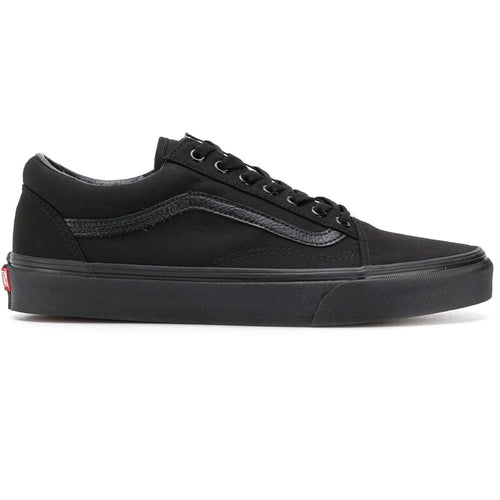 VANS Old Skool Black/Black (Canvas) - Circle Collective