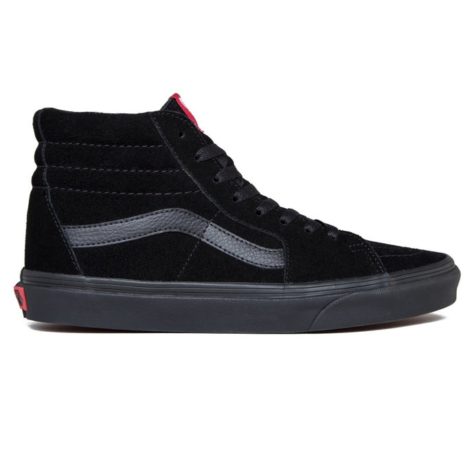 VANS SK8 - Hi Black/Black (Suede) - Circle Collective