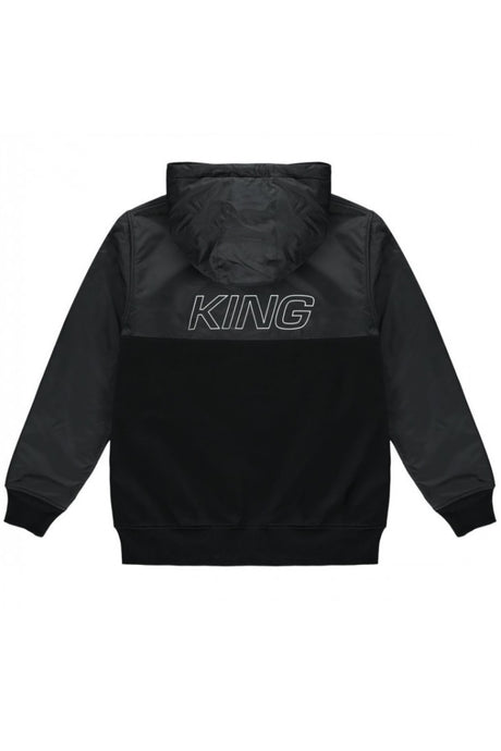 KING APPAREL Track Top Dalston Black - Circle Collective