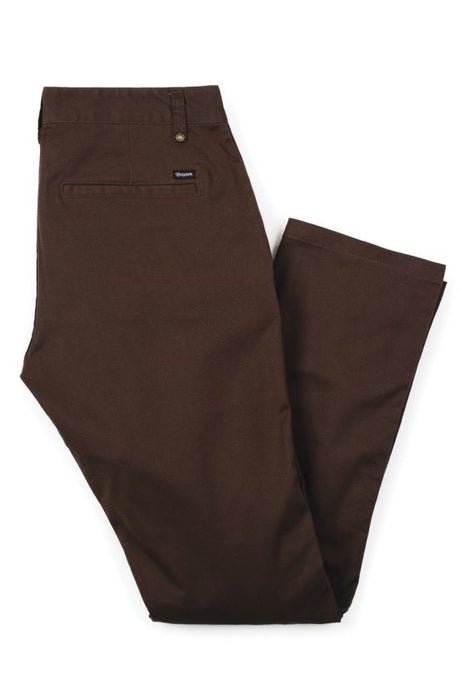 BRIXTON Chinos Reserve Brown - Circle Collective