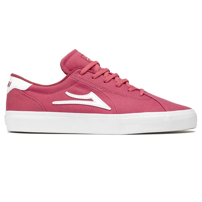LAKAI Flaco II Red Canvas - Circle Collective