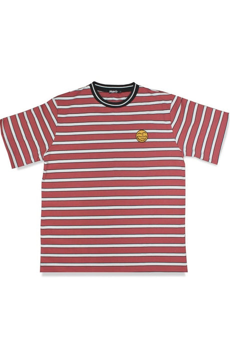 HANDY SUPPLY CO T-Shirt Striped Vintage Heavyweight Red/White - Circle Collective