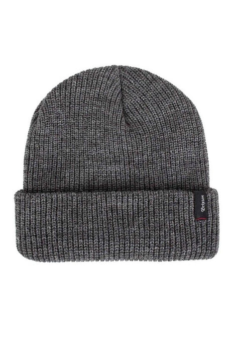 BRIXTON Beanie Heist Heather Grey. - Circle Collective