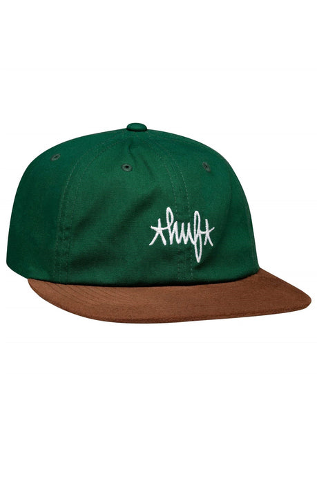 HUF Cap 6 Panel Haze Contrast Forest Green | CC Skate | New In