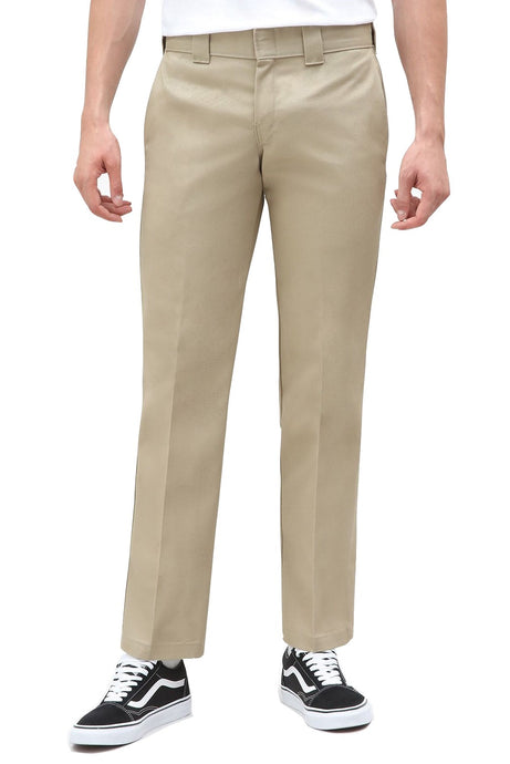 DICKIES Work Pant 873 Slim Straight Khaki - Circle Collective