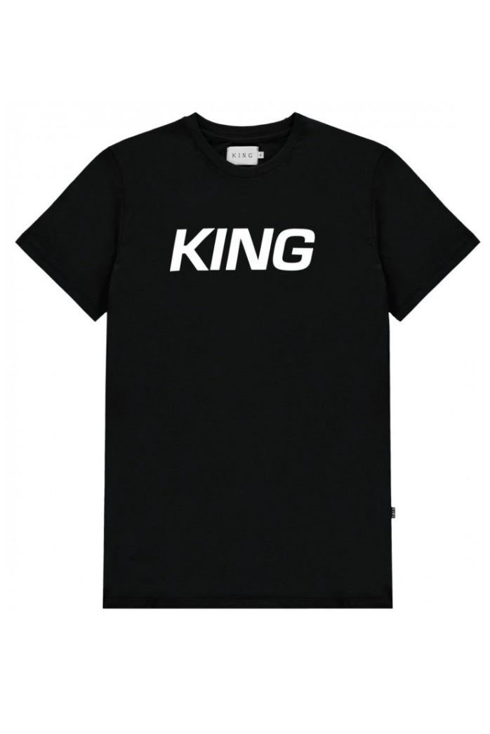 KING APPAREL T-Shirt Dalston Black - Circle Collective