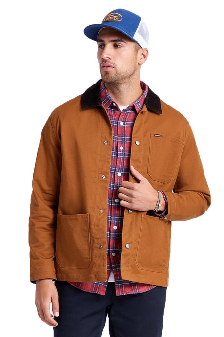 BRIXTON Coat Survey X Chore Washed Copper - Circle Collective