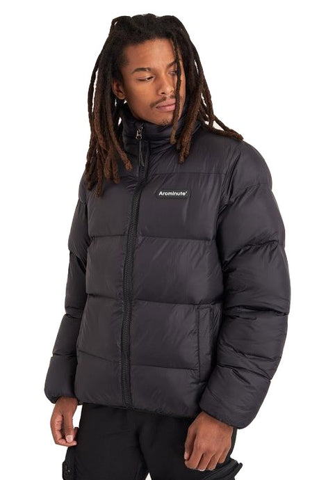 ARCMINUTE Puffer Jacket  Shoho V1 Black - Circle Collective