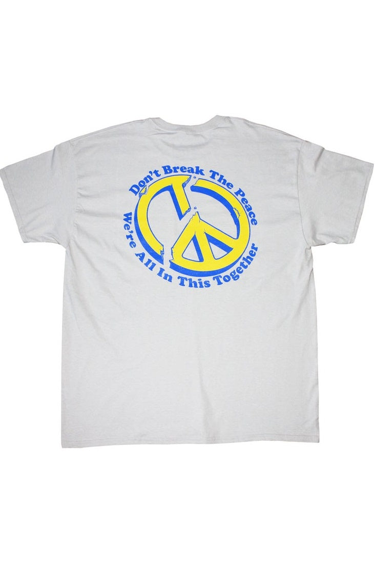 HANDY SUPPLY CO T-Shirt Don't Break The Peace White - Circle Collective