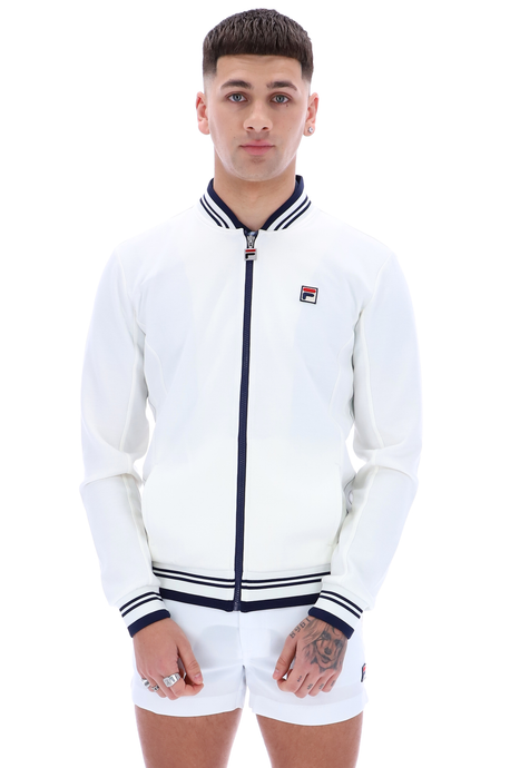 FILA VINTAGE Jacket Settanta White - Circle Collective