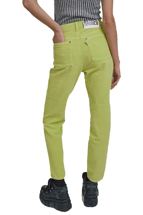 THE RAGGED PRIEST Grove Pant LIme - Circle Collective