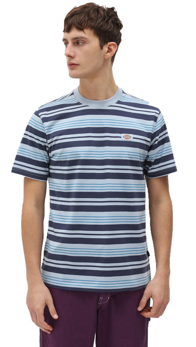 DICKIES T-Shirt Wheaton Fog Blue - Circle Collective