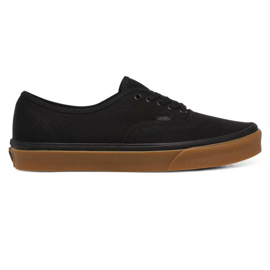 VANS Authentic 12 Oz Canvas Black/Gum - Circle Collective