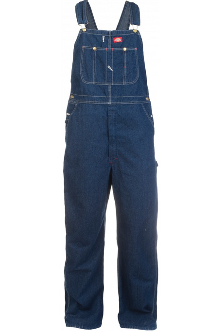 DICKIES Bib Overall Rinsed Indigo Blue - Circle Collective