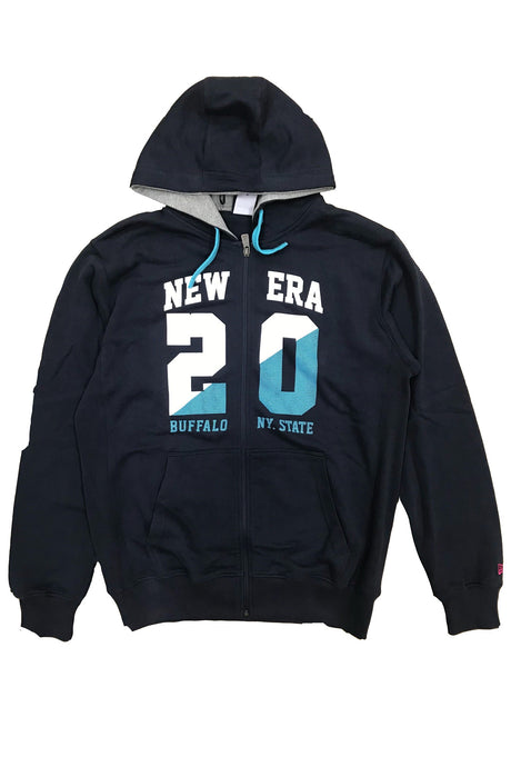 NEW ERA Hoodie 20 Buffalo State Navy - Circle Collective