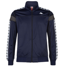 KAPPA Track Top Banda Merez Blue Marine/Grey/White