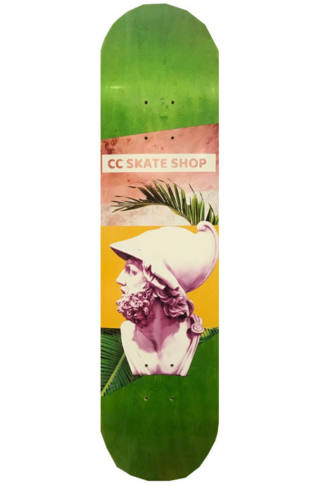 CC SKATE Deck Warriors Code Green - Circle Collective