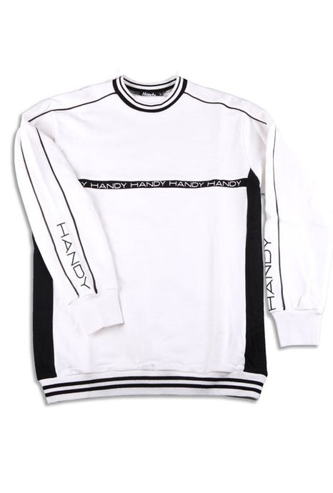 HANDY SUPPLY CO Sweatshirt Fleece White/Black - Circle Collective