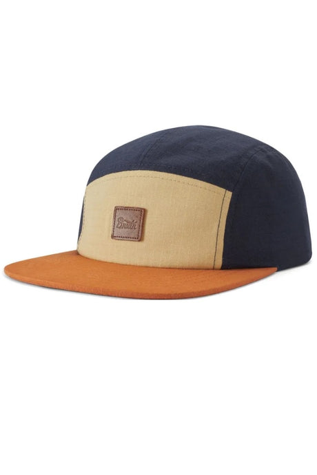 BRIXTON Cap Stith LP Camper Gravel/Navy - Circle Collective