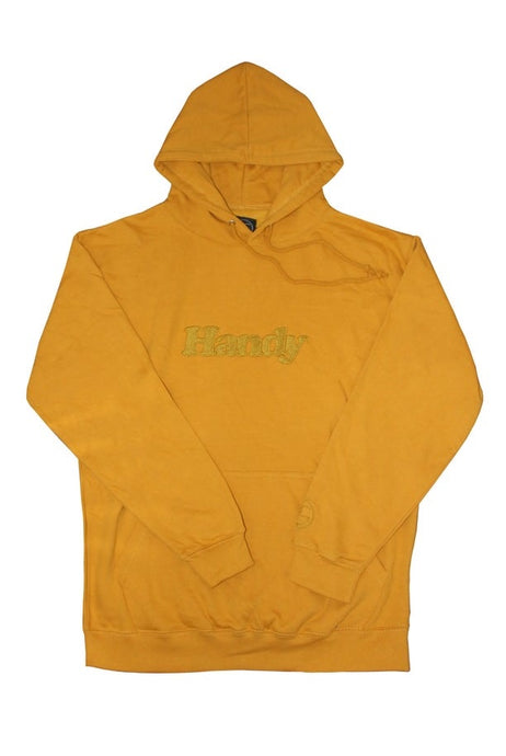 HANDY SUPPLY CO Hoodie Logo Mustard Yellow - Circle Collective