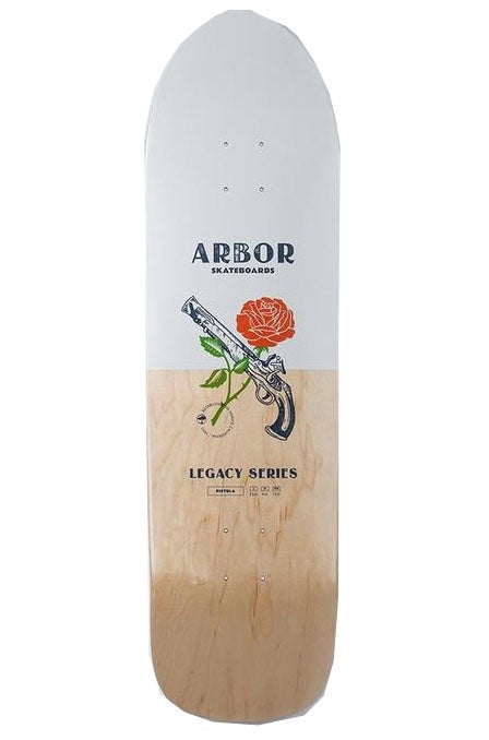 ARBOR Deck Martillo 19 White/Natural 8.875