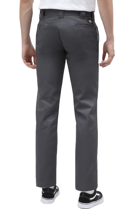 DICKIES Work Pant 873 Slim Straight Grey - Circle Collective