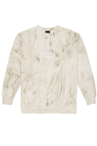 HUF Sweatshirt Crew Neck Elias Unbleached | Circle Collective