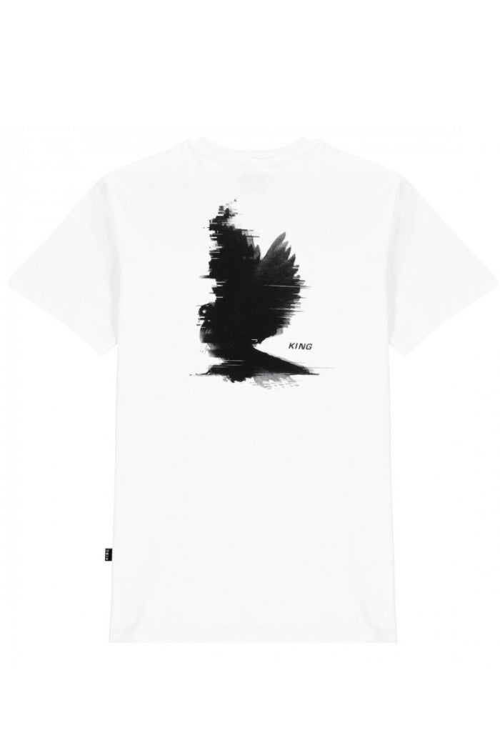 KING APPAREL T-Shirt Hoxton White - Circle Collective