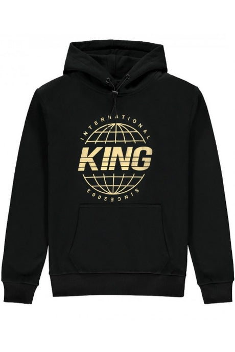 KING APPAREL Hoodie Bethnal Black/Gold - Circle Collective
