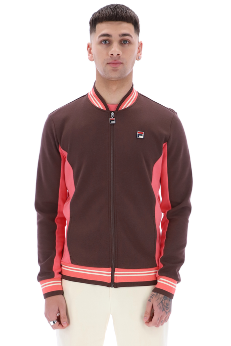 FILA VINTAGE Jacket Settanta French Roast - Circle Collective