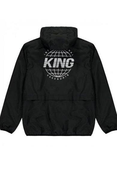 KING APPAREL Coach Windrunner Jacket Bethnal Black - Circle Collective