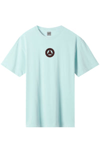 HUF T-Shirt Colour Tech Triple Triangle Mint