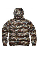 KING APPAREL Puffer Jacket Earlham Camo - Circle Collective