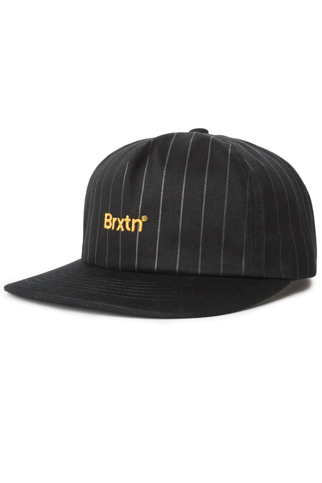 BRIXTON Gate LP Cap Black - Circle Collective