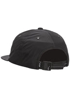 HUF Cap Offset 6 Panel Black - Circle Collective
