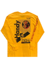 HANDY SUPPLY CO Long Sleeve Tee  Acid:// Another Planet Mustard - Circle Collective