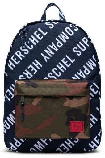 HERSCHEL Backpack Classic Logo Camo Print - Circle Collective
