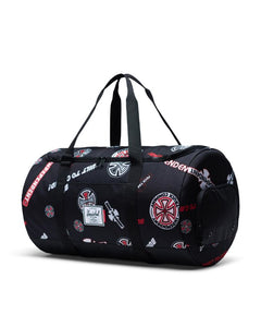 HERSCHEL x INDEPENDENT Duffel Bag Sutton Black - Circle Collective