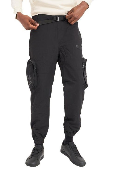 ARCMINUTE Cargo Joggers Hammelton Black - Circle Collective