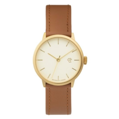 CHPO Watch Khorshid Mini Gold/Light Brown - Circle Collective