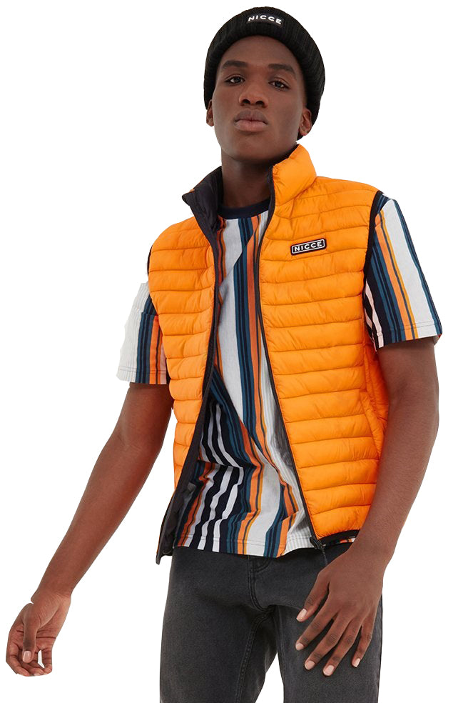 NICCE Gilet Maidan Orange - Circle Collective