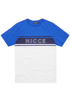 NICCE T-Shirt Panel Cobalt Blue/White - Circle Collective
