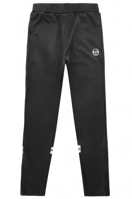 SERGIO TACCHINI Track Pant Orion Slim Black/White - Circle Collective